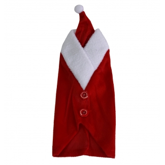 Weihnachtsmann-Flaschenhülle