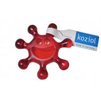 Drehverschlussöffner KOZIOL blau + rot