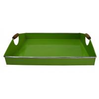 Metalltablett grün