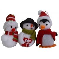 Baumbehang, weihnachtlich 3-er Set