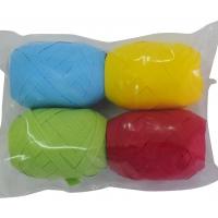 Geschenkband-Set, 4 Farben