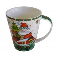 Kaffeebecher mit Motiv Weihnachtsmann
