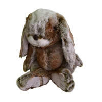 Plüschhase, groß 35 cm im Bukowski-Design