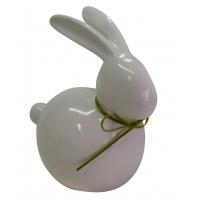 Porzellan-Hase, weiß (ca. 17-25 cm)