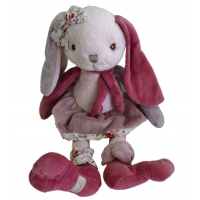 Plüschhase BIBI im Bukowski-Design pink