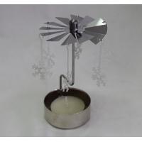Metall-Pyramide mit Teelicht